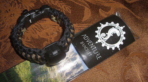 The coolest survival bracelet ever!