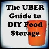 Uber Guide to DIY Food Storage