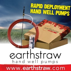 The most affordable hand pump water well solution!