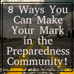 8 Ways You Can Make Your Mark!