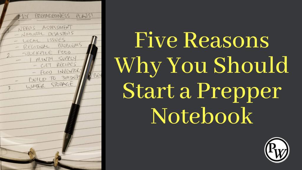 Prepper Notebook